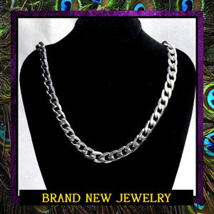 Men's Heavy Stainless Steel Chain Necklace #360
